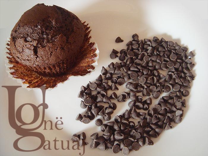 Mafins me çokollatë