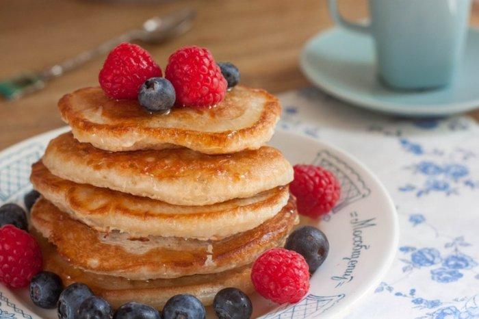 Petulla tigani (Pancakes ose petulla Amerikane)