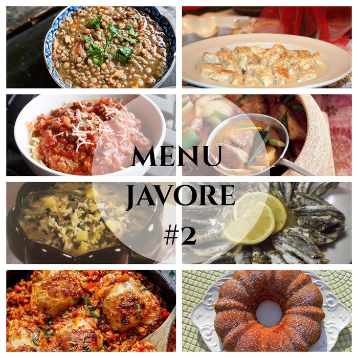 menu javore #2