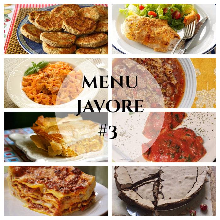 menu javore #3